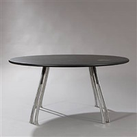 circular dining table by poul henningsen