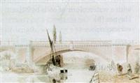regent's dock viaduct on the london and blackwall railway by george haydock dodgson