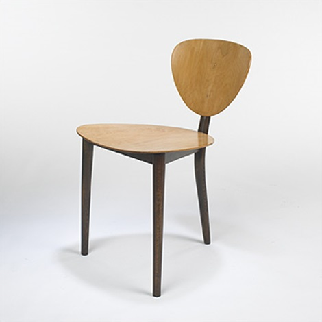Three Legged Chair By Max Bill