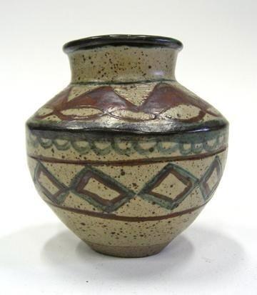 a rorkes drift vase by elizabeth mbatha