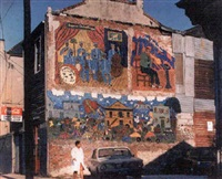 bruce brice mural, treme by michael p. smith