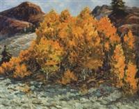 yellow aspen by charles e. kristenmacher