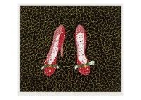 shoes by yayoi kusama