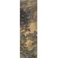 窦子明得道图 (dou ziming rising to immortality) by zhou xun