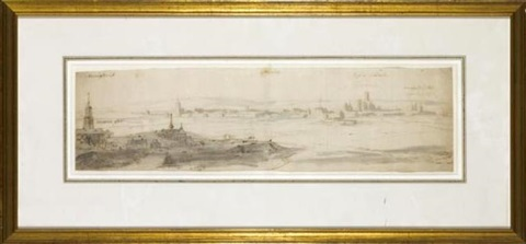 view of meaux by jan peeters the elder
