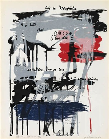 untitled (from odes) by michael goldberg