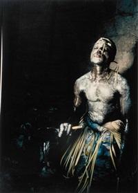 african ceremonies - voodoo priest by angela fisher