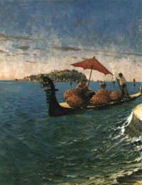 sommertag vor (capri) isola bella by eugen zardetti