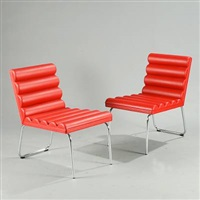 chicago easy chairs (pair) by gunilla allard