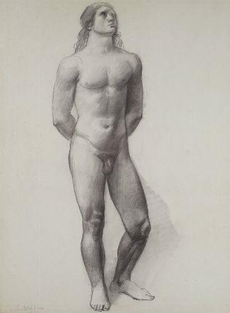 nudo maschile by achille funi