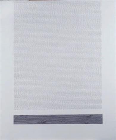 scrittura bianca con cemento by alfredo rapetti