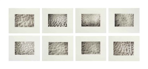 untitled sand portfolio of 8 by felix gonzález torres