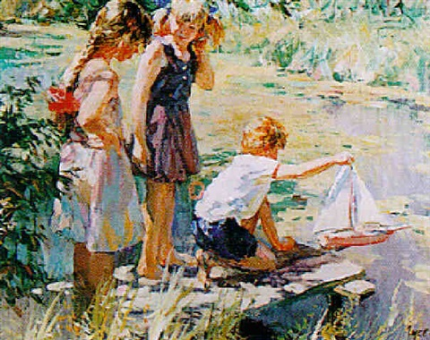 a summers day by vladimir gusev