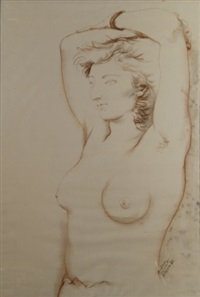desnudo femenino by manuel alcorlo