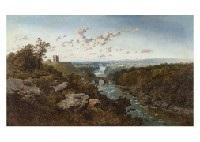 landscape with river by edmund john niemann