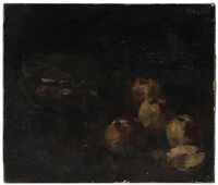 still life with apples by edmund pick-morino