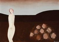 landscape with figure by freddy eriksen