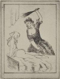 erotische darstellungen (18 works) by zuber