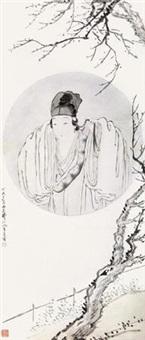 梅影梳妆 by fei danxu