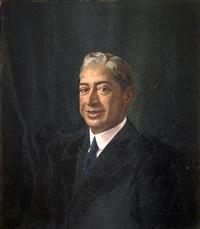 retrato de caballero by alfonso grosso y sánchez