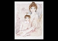 mother and child by bernard charoy