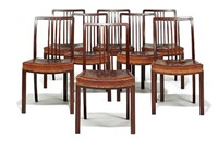 stickback chairs (set of 8) by bent helweg-moller