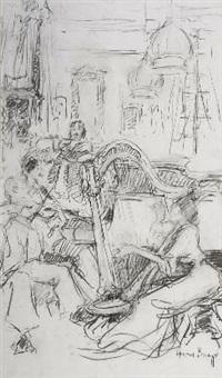 sketch of a quartet by adriaan hendrik boshoff