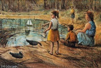 at the pond by james mcdonald