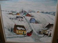 village hivers by yvonne bolduc