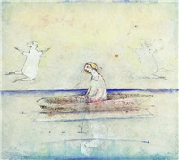 at the lake by olavi vaarula