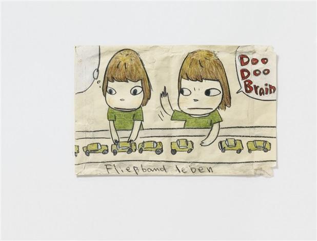 doo doo brain by yoshitomo nara