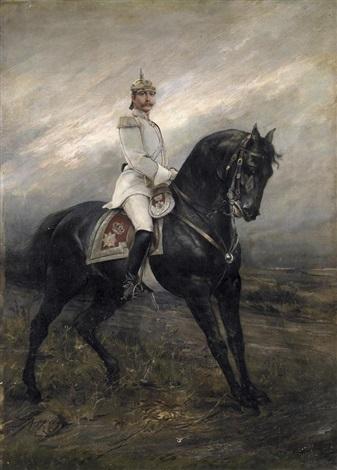 kaiser wilhelm ii zu pferd by joszi arpad koppay