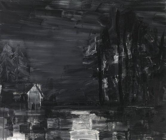 paysage international lieu du crime sur bourgogne by yan pei ming