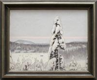 vinterlandskap by hilding werner