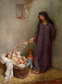 mor og barn by markus frederik steen gronvold
