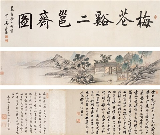 eryong study of mei cangxi by xi zhongfu