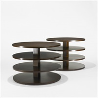occasional tables (pair) by gregori warchavchik