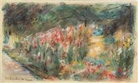 der nutzgarten in wannsee nach südosten by max liebermann