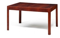 dining table by bent helweg-moller