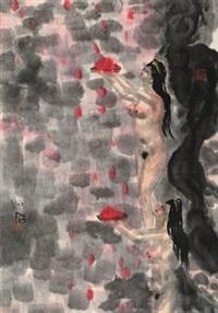 裸女 by fu xiaoshi