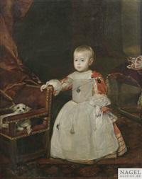 der infant philipp prosper by diego rodríguez de silva y velásquez