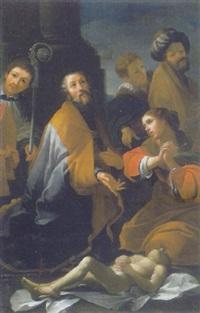 miracolo di san martino vescovo by alessandro tiarini