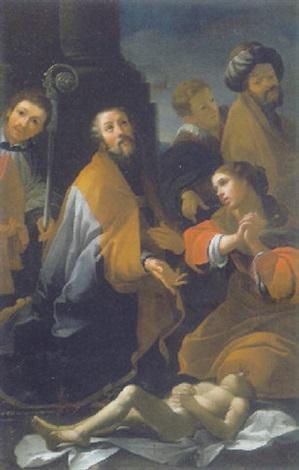 Miracolo Di San Martino Vescovo By Alessandro Tiarini On Artnet