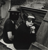 women firewatchers, london, for british vogue by lee miller