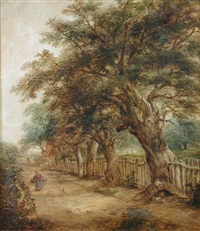 view of bolton lane, ipswich by robert burrows