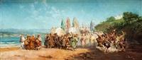escena arabe by gustavo hastoy