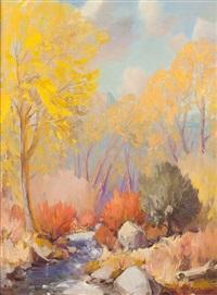 fall on pueblo river by rod goebel