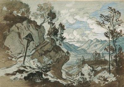 bayerische seenlandschaft by heinrich woldemar rau