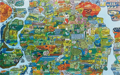 Section Of World Map A Puzzle Ur The New York Collection For