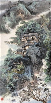 landscape by lin peisong